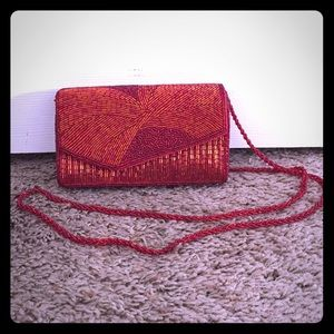 REDUCED VINTAGE BEADED PURSE