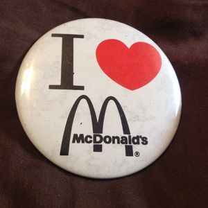 90s McDonalds pin