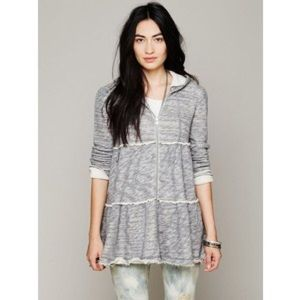 Free People Tops - Free People tiered trapeze sweatshirt