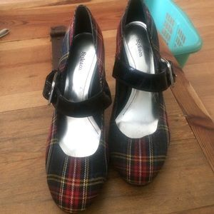 Style & Co plaid pumps