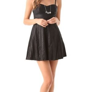 Free People Dresses & Skirts - Free People vegan leather dress