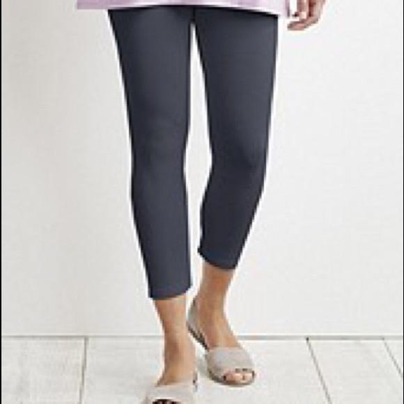 0aa45886edf836 J. Jill Pants | Jjill Flagstone Grey Capri Leggings 3x | Poshmark