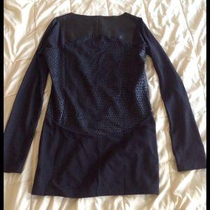 a10e49075d4 Adidas Tops   Originals Tunic Dress Black Faux Leather   Poshmark