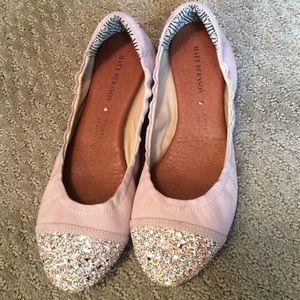 Matt Bernson Shoes - Matt Bernson glitter ballet flats