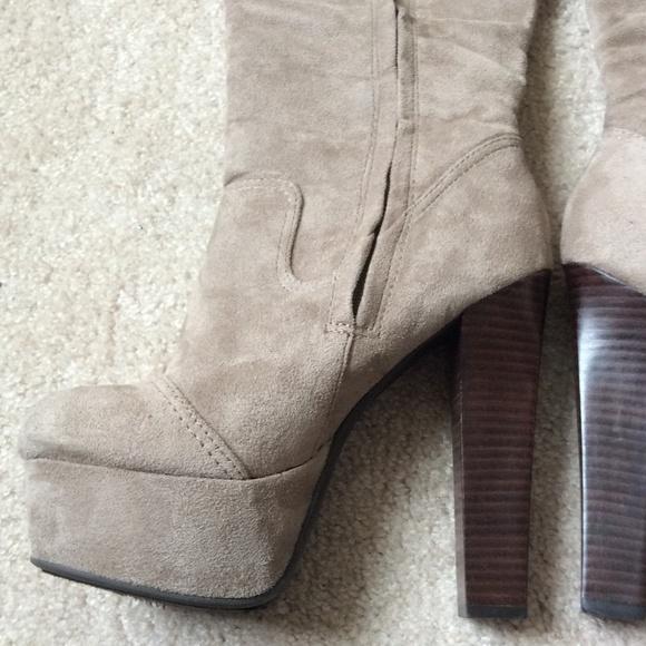 zigi soho high heel suede boot from teri s closet on