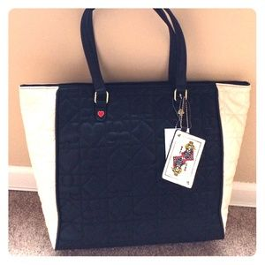 Betsey Johnson tote purse NWT