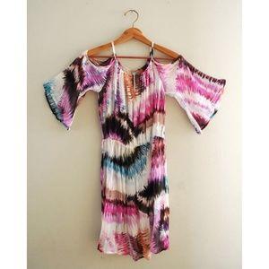 Anthropologie Pinkerton Flowy Cut Out Dress