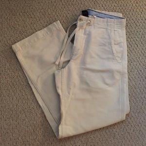 GAP men's linen pants size small.