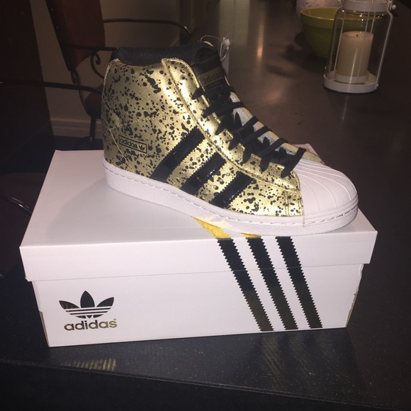 c5de0ed4e585 Adidas Shoes - Adidas New in Box High Top Sneakers