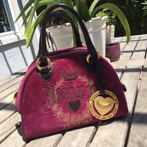 Juicy Couture Bowler Handbag