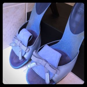 Cole Haan Shoes - Stunning blue slide sandals - G Series w/ nike air