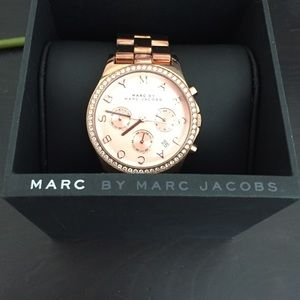 Marc Jacobs Watch! Rose gold! 