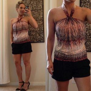Tops - ❤ | halter-neck dress top |