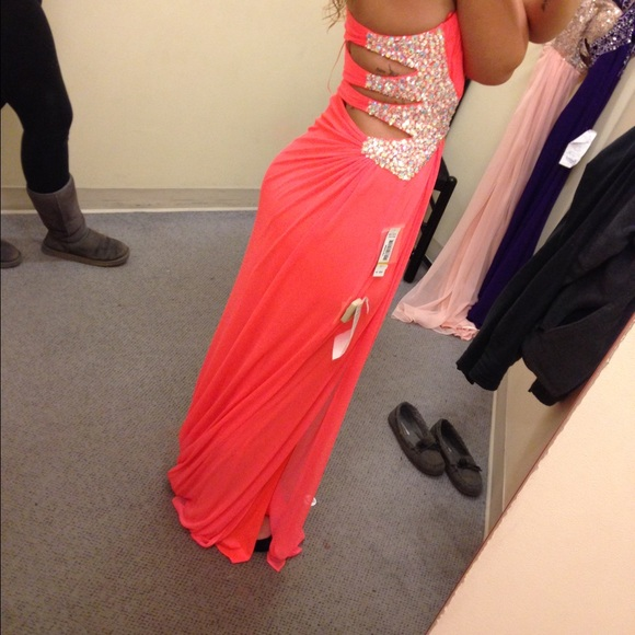 44% off Boscov's Dresses & Skirts - Coral prom dress ✨ from ...