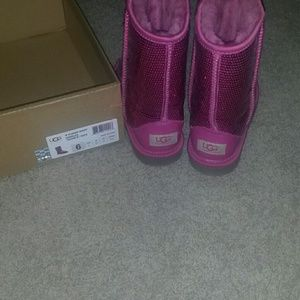 Authentic Ugg Pink Boots