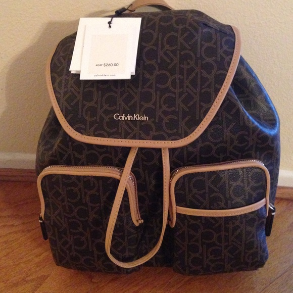 8995ce656f Calvin Klein Bags | Nwt Backpack | Poshmark