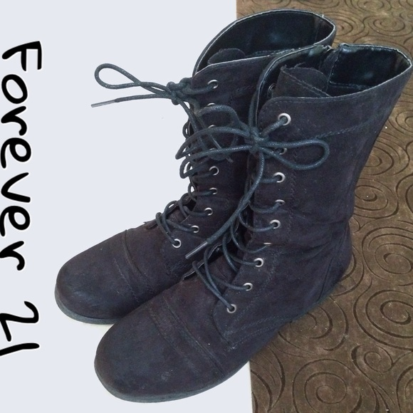 73 forever 21 shoes forever 21 black faux suede