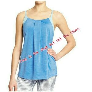 81 off old navy tops two gym tank tops with built in for Shirts with built in sports bra