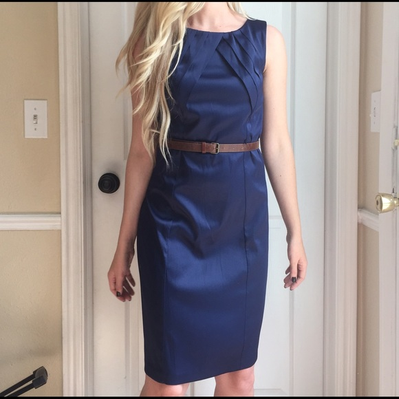 Off Ab Studio Dresses Skirts Ab Studio Navy Dress From