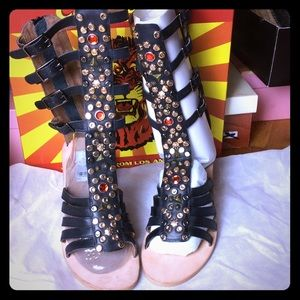 Jeffrey Campbell Klamath Gladiator sandals. 10 M