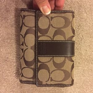 Authentic Coach wallet - trifold