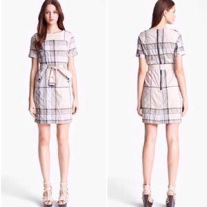NWOT Burberry Brit nova check print dress
