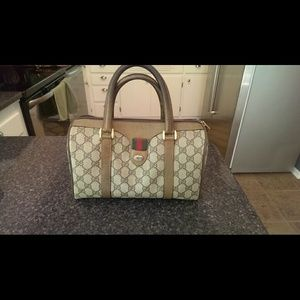 Authentic Gucci Boston Bag (vintage)