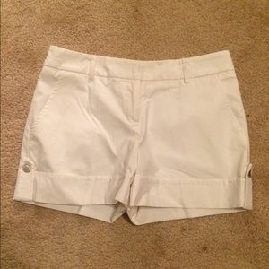 White shorts. Great for spring!