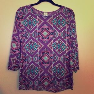 NWT Tribal Blouse