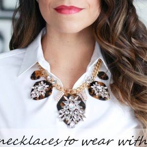 Jewelry - ✨SOLD✨ Baublebar tortoise jeweled necklace