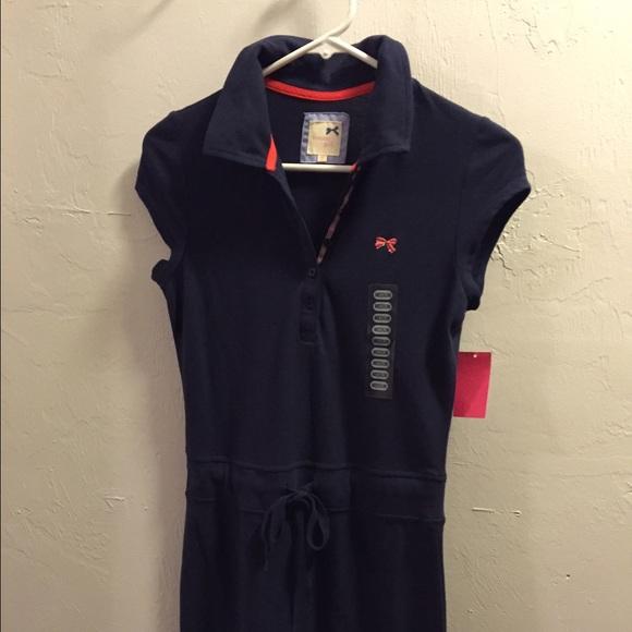a03dc05b Tommy Hilfiger Dresses | Tommy Girl Navy Blue Polo Dress | Poshmark
