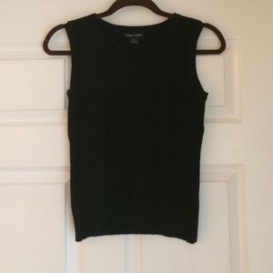 Audrey & Grace Tops - Black Top