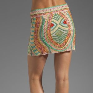 Antik Batik Dresses & Skirts - Antik Batik beaded miniskirt