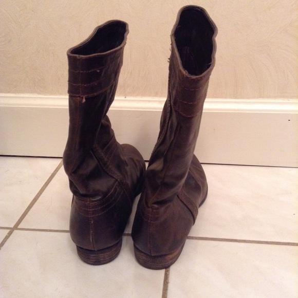 diba diba brown boots from arielle s closet on poshmark