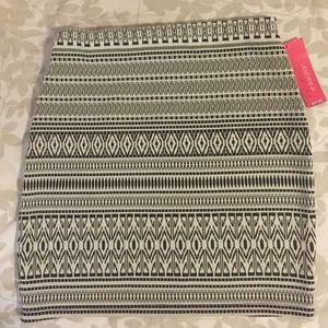 NWT Xhilaration tribal print skirt