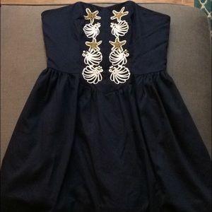 Lilly Pulitzer Mayfield Dress in True Navy