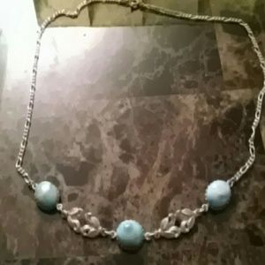 Jewelry - Sterling Silver Larimar Necklace