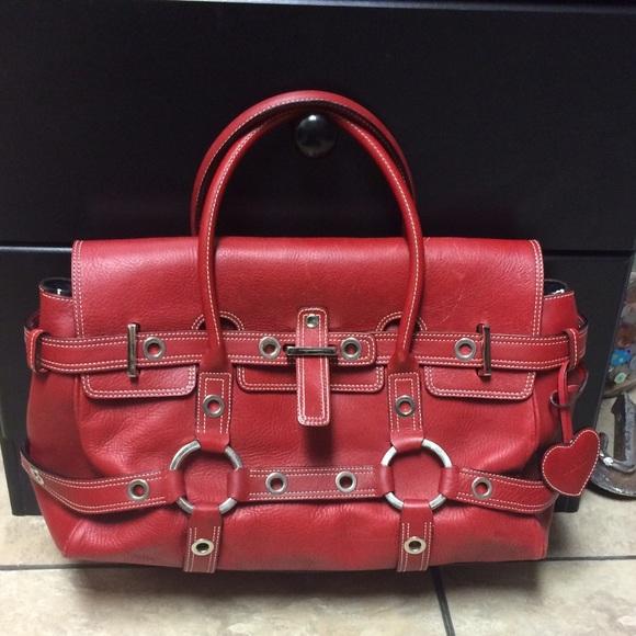 49ab022aaa Luella Bags | Authentic Red Handbag | Poshmark
