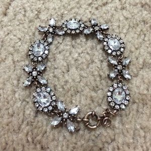 Rhinestone X and O bracelet