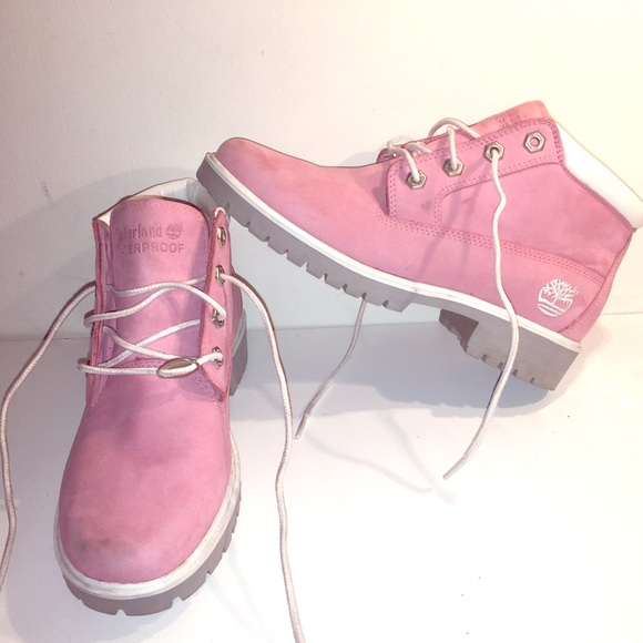 fec2f7d38c653 Timberland Shoes - Timberland Nellie - Women's Bubble Gum Pink