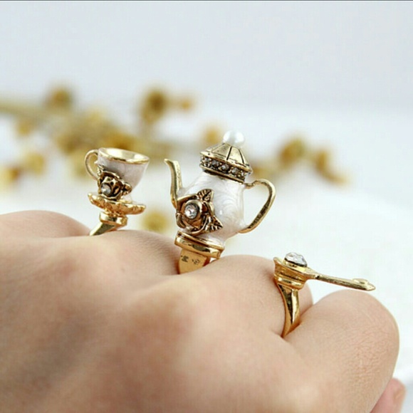 98 jewelry delicate tea kettle ring set from 251k