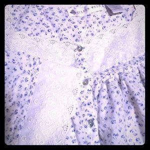 Eileen West Floor Length Night Gown/Robe.
