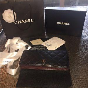 AUTHENTIC CHANEL YEN WALLET $795
