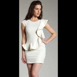 Ted Baker Cream Zip Dress