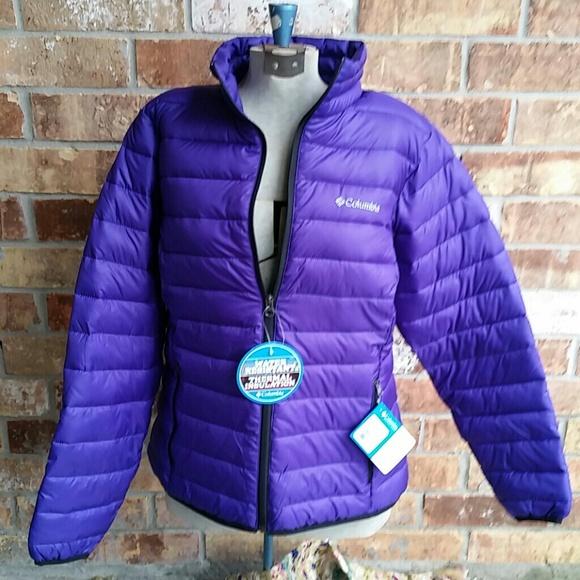 558748e326c COLUMBIA puffy jacket! Beautiful purple color NWT