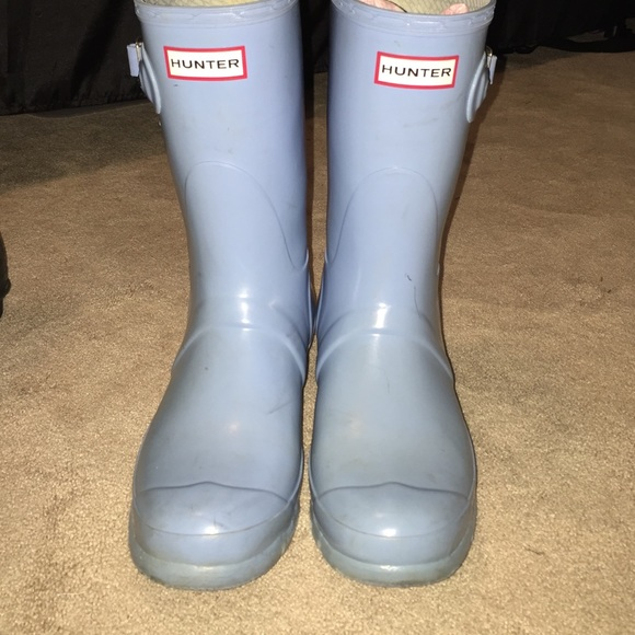 Hunter Boots - Baby blue short hunter boots c0d6c5c10a