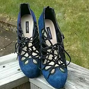 Shoemint lace pumps 6.5