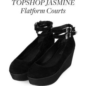 ISO Platform Flatform Ballet Flat Court Mary jane