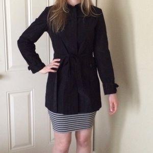 MaxMara Jackets & Blazers - Authentic MaxMara Black Parka Jacket Coat Size 2