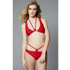 Red bikini set. Fit xs-s. A-B  cup.